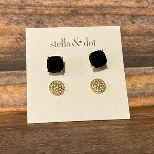 Stella & Dot Luxe Stud Pack Gold